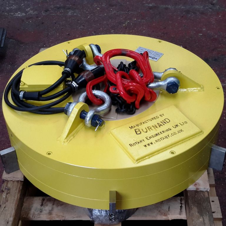 New Bespoke Electro Magnet for operating in confined space